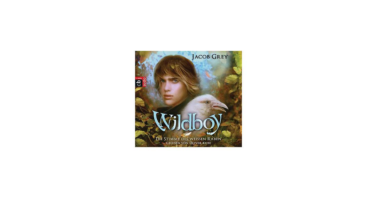 Wildboy - Die Stimme des weißen Raben, 4 Audio-CDs