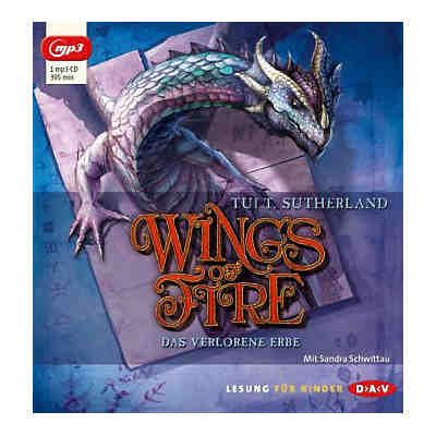 Wings of Fire: Das verlorene Erbe, MP3-CD