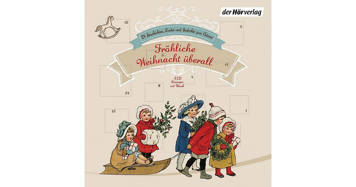 Fröhliche Weihnacht überall, 1 Audio-CD Hörbuch