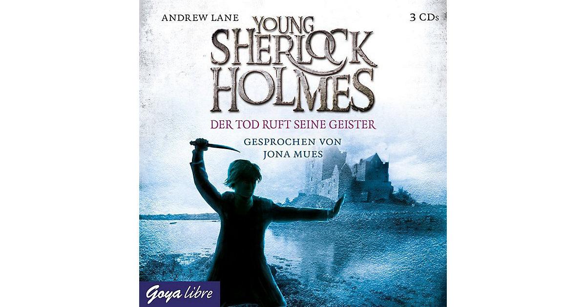 Young Sherlock Holmes: Der Tod ruft seine Geister, 3 Audio-CDs Hörbuch