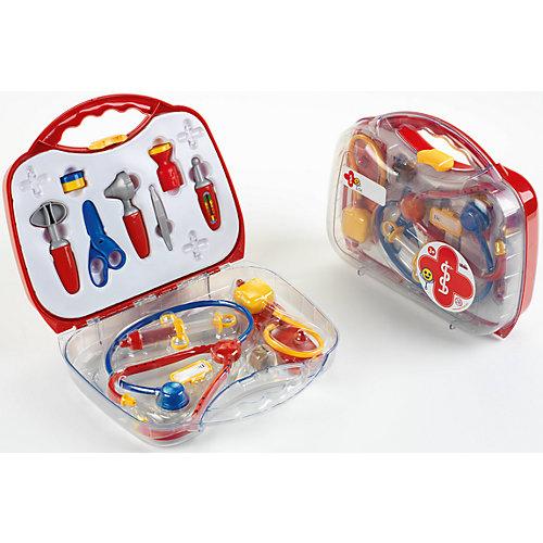 Игровой набор Klein Чемоданчик доктора, большой, 13 предметов от klein