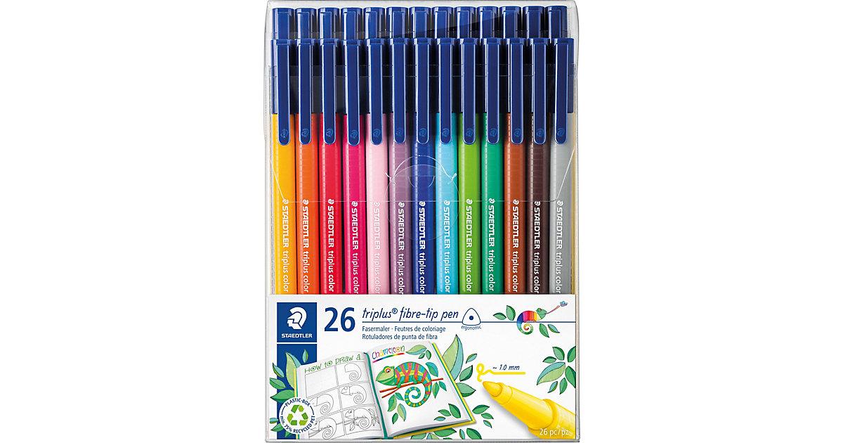 Filzstifte triplus color DRY SAFE, 26 Farben