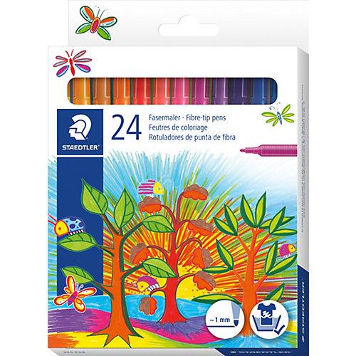 Набор фломастеров Noris Club, 24 цвета от Staedtler