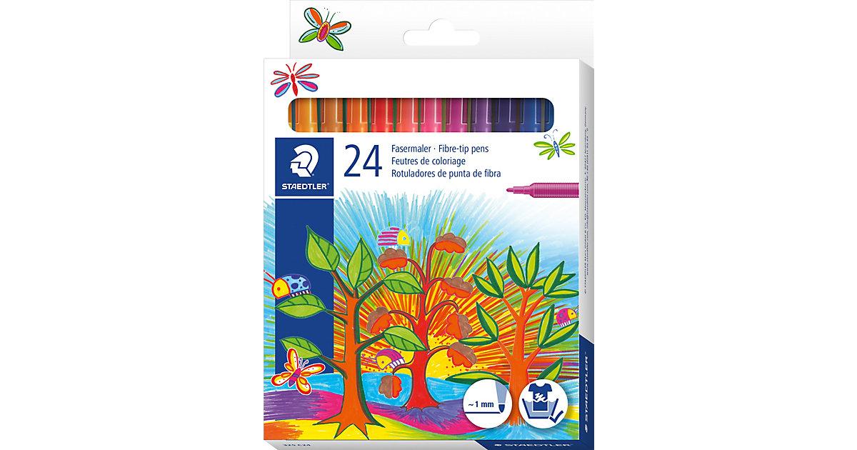 Noris Club Filzstifte, 24 Farben