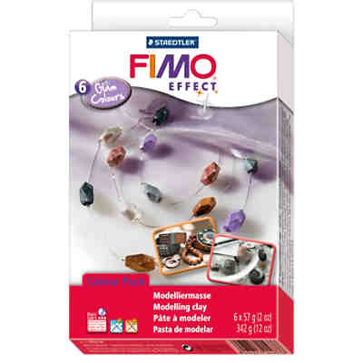 FIMO effect Materialpackung Glam Colours, 6 x 57 g