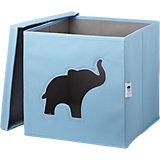 Коробка с крышкой для хранения Store it Слон