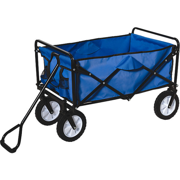 Bekannt Bollerwagen, blau, Happy People | myToys IO85