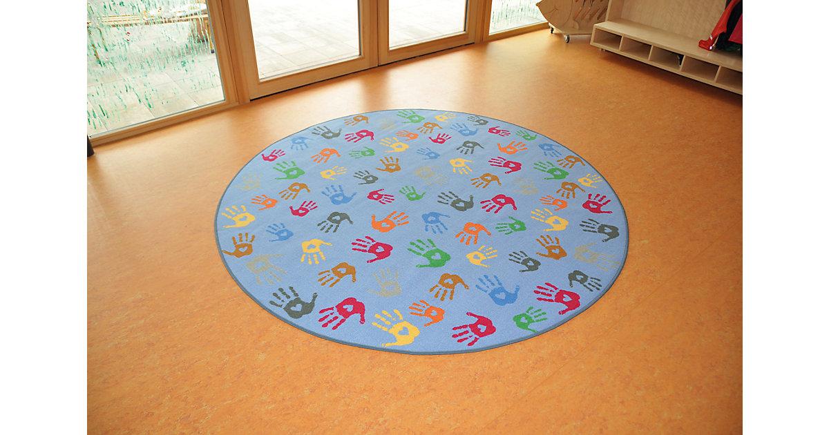 Teppich Hände Rund, 200 cm