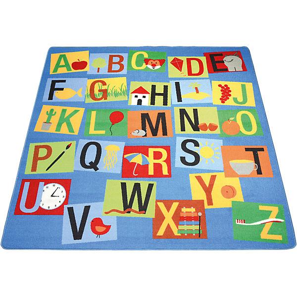 Teppich Buchstaben, 200 X 200 Cm