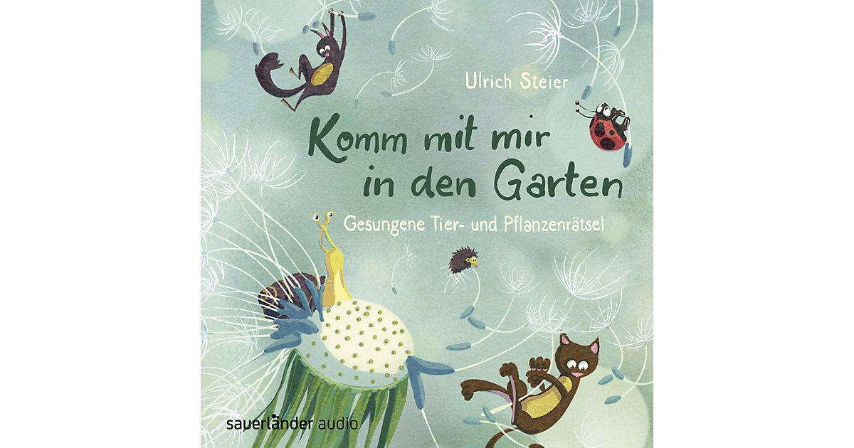 Komm mit mir in den Garten, 1 Audio-CD Hörbuch