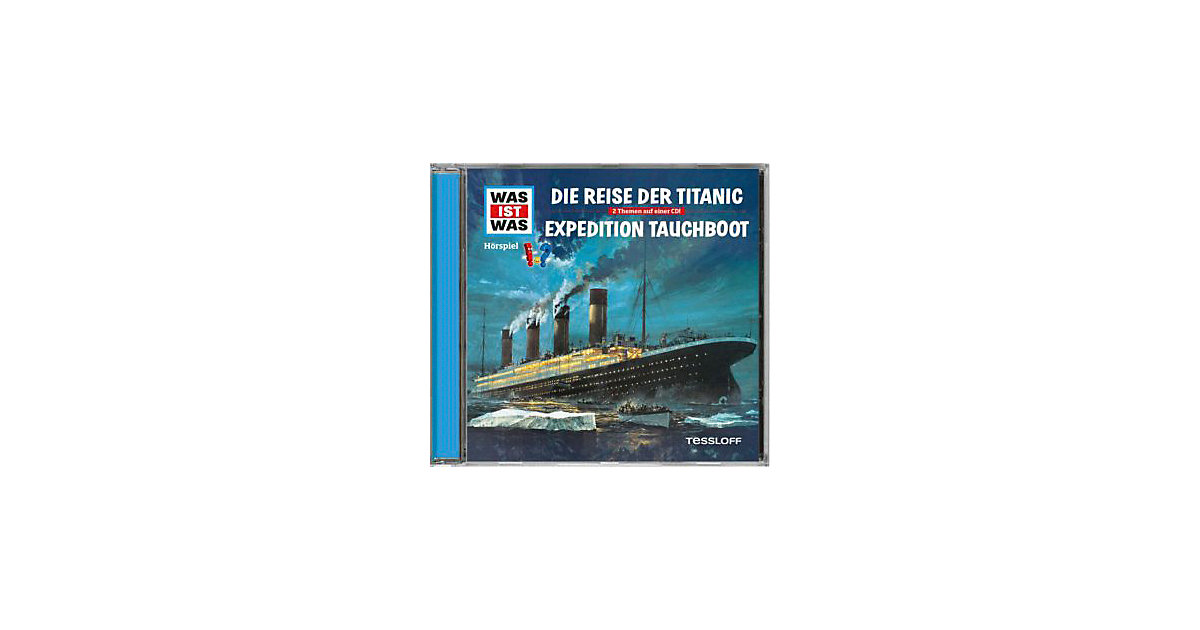 WAS IST WAS Die Reise der Titanic/Expedition Ta...