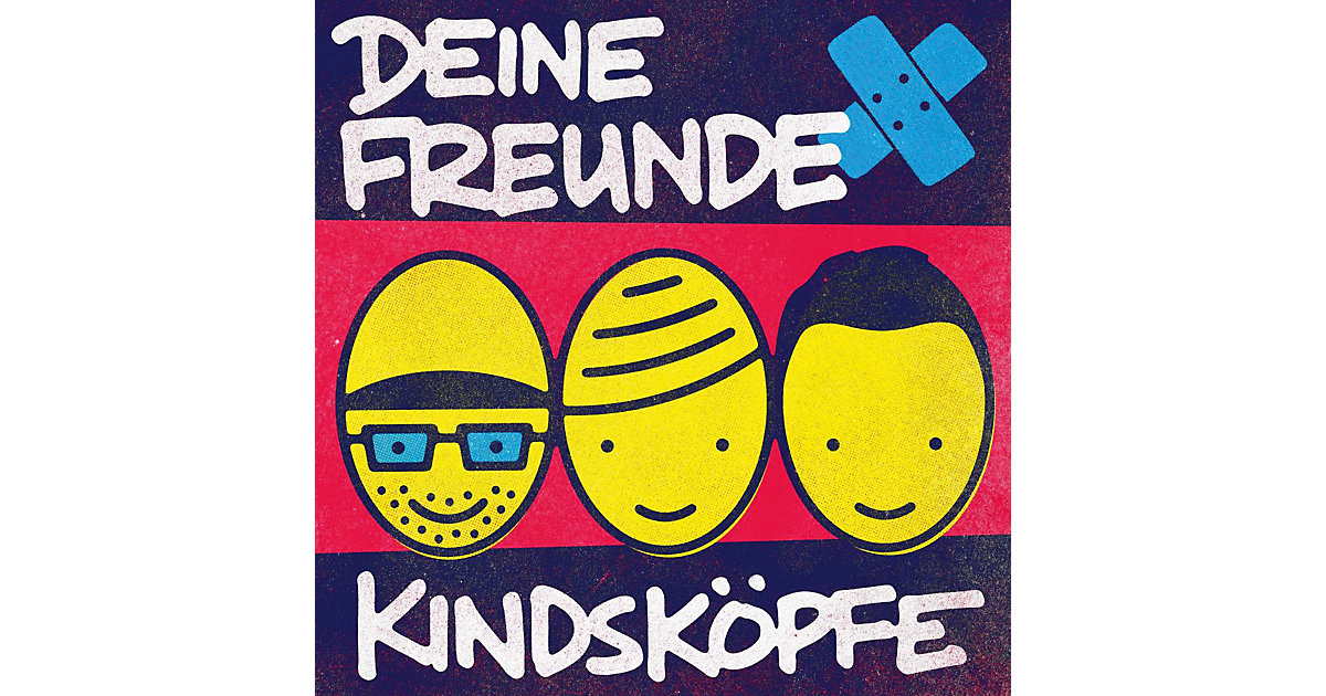 CD Deine Freunde - Kindsköpfe