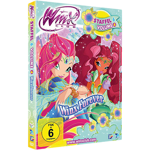 DVD Winx Club - Forever Staffel 6.4