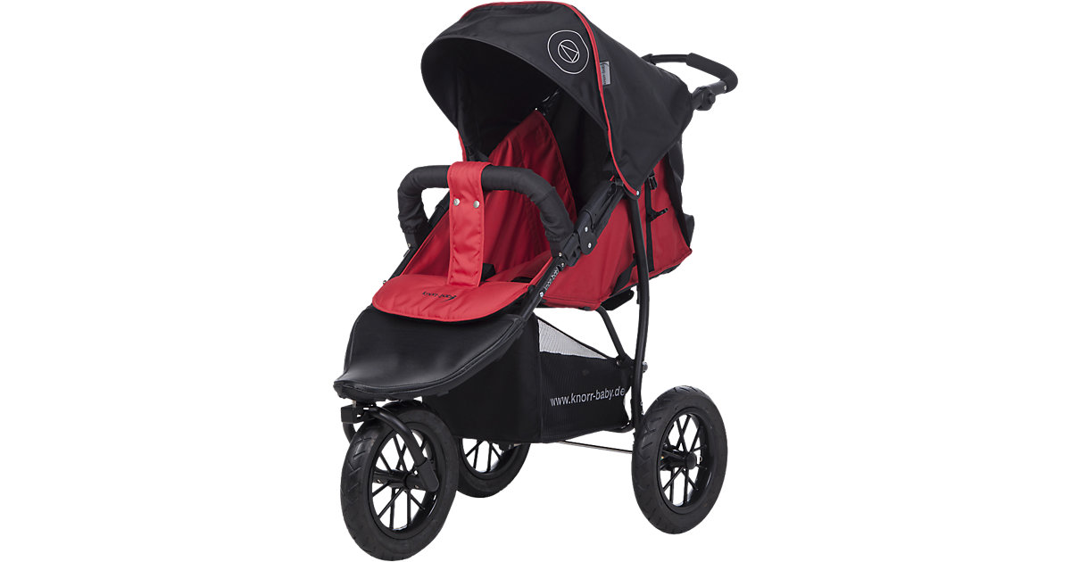 Knorr Toys · knorr-baby Sportwagen Joggy S Happy Colour rot