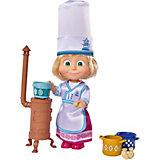 "Мини-кукла Simba ""Маша и Медведь"" Маша в одежде повара, 12 см"