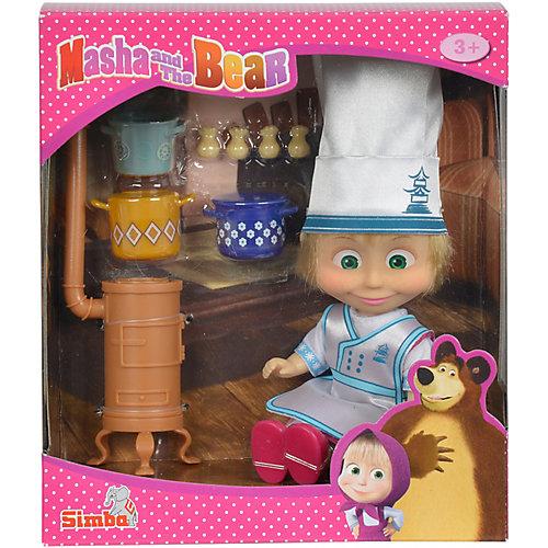 "Мини-кукла Simba ""Маша и Медведь"" Маша в одежде повара, 12 см от Simba"