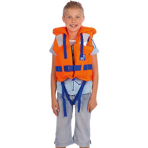 Rettungsweste Kleinkinder, orange Kinder   04008332180366
