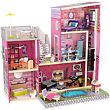 """Кукольный дом для Барби KidKraft """"Глянец"""", с мебелью и бассейном"""