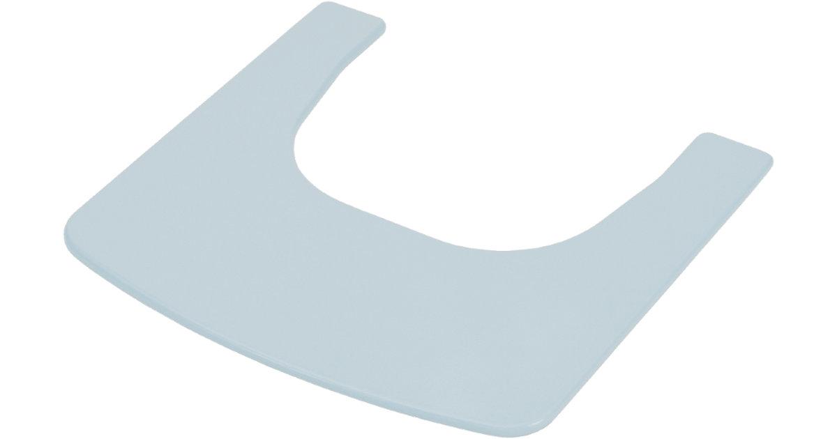 Ess- & Spielbrett zu Treppenhochstuhl Pastell Blau Gr. 45 x 45