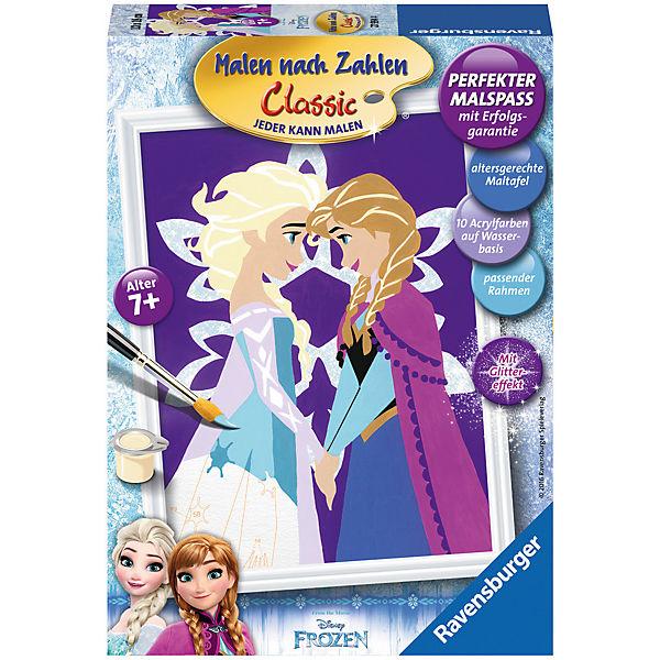 Malen Nach Zahlen Disney Die Eiskönigin Winter Magic Disney Die Eiskönigin