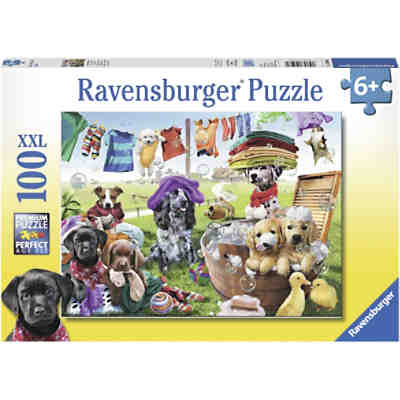 Puzzle Bunter Waschtag 100 Teile