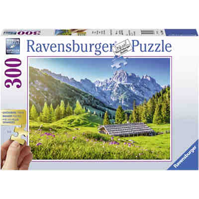 Puzzle Bergwiese, 300 Teile