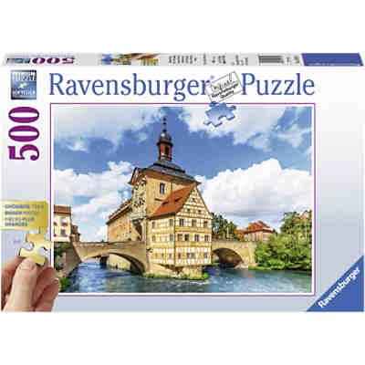 Puzzle Rathaus, Bamberg, 500 Teile
