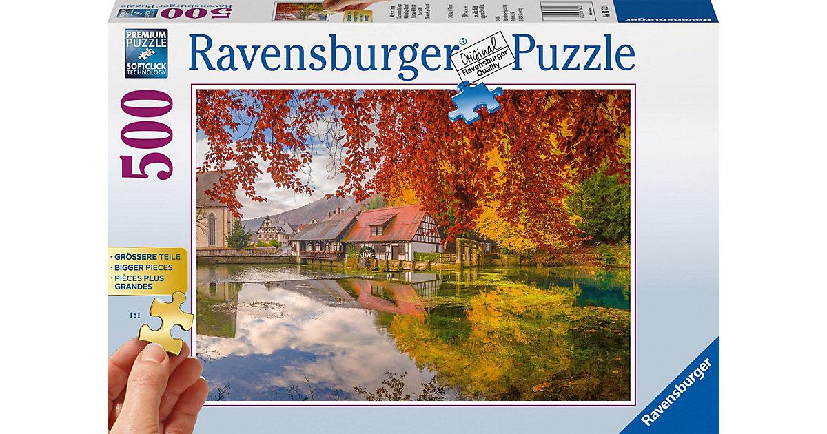 Puzzle Mühle am Blautopf, 500 Teile