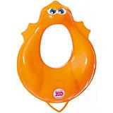Накладка на унитаз, Ducka, Ok Baby, оранжевый