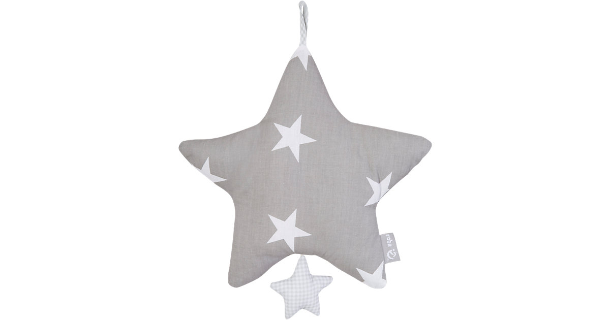 Spieluhr Little Star, grau
