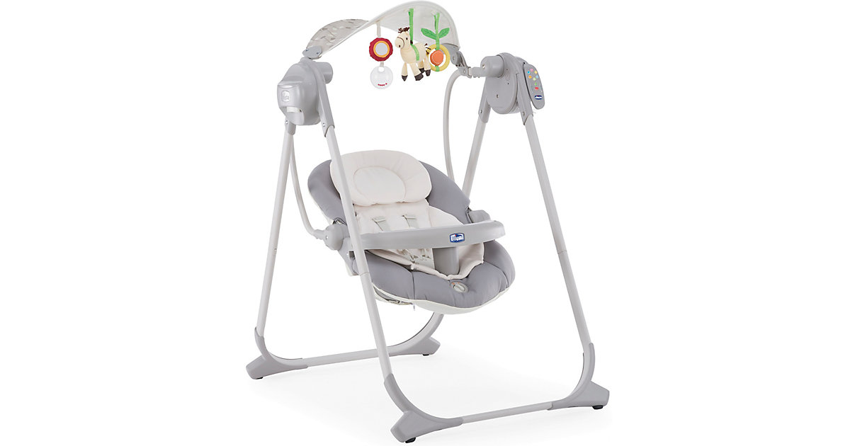 Chicco · CHICCO Babyschaukel Polly Swing Up SILVER