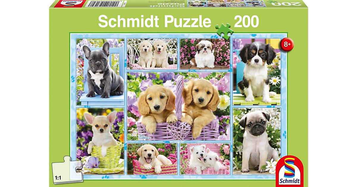 Puzzle Welpen, 200 Teile