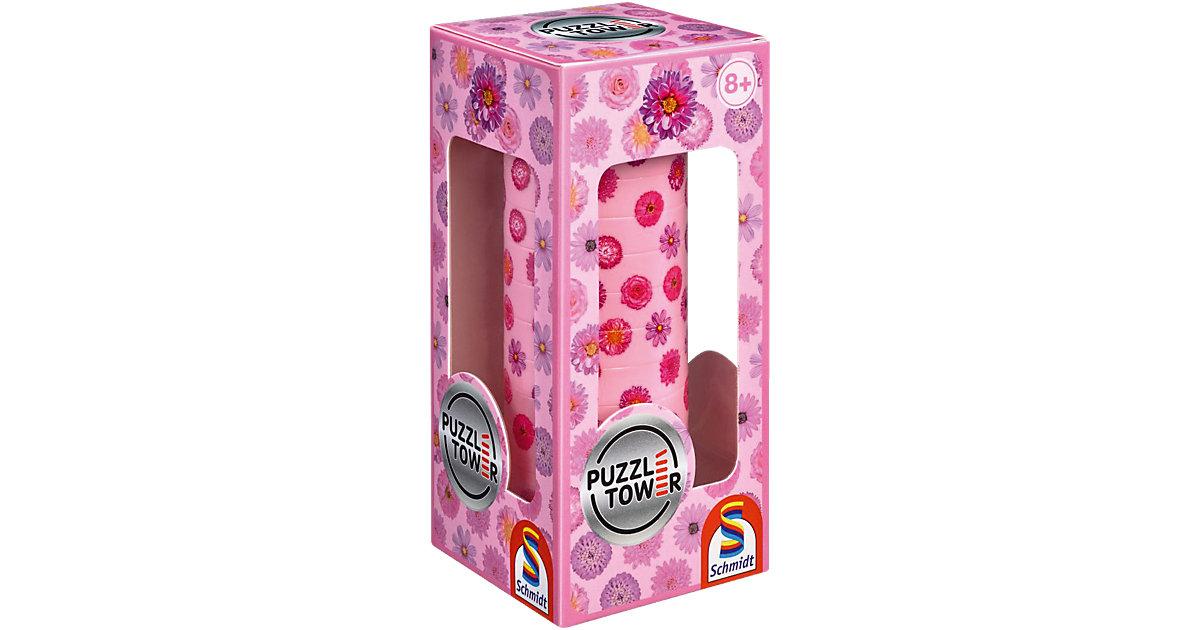 Puzzle Tower, Blumen - 10 Teile