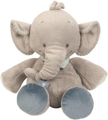 Plüschtier Elefant Jack, 34 cm grau