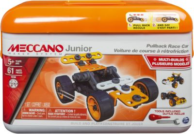 Meccano Junior Rennauto