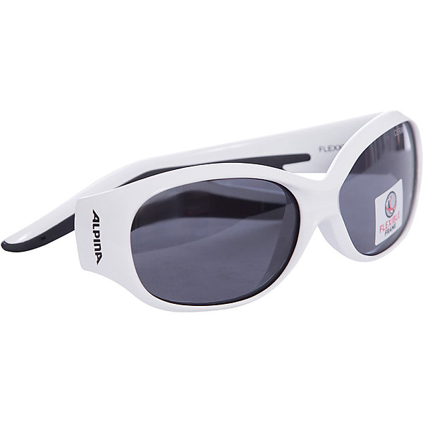 Sonnenbrille Flexxy Kids white flower