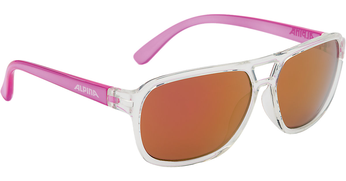 ALPINA · Sonnenbrille Yalla clear-pink Mädchen Kinder