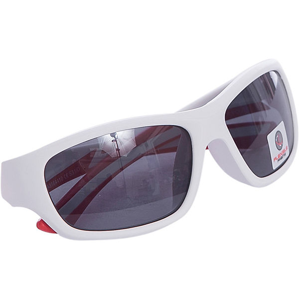 Sonnenbrille Flexxy Youth white matt