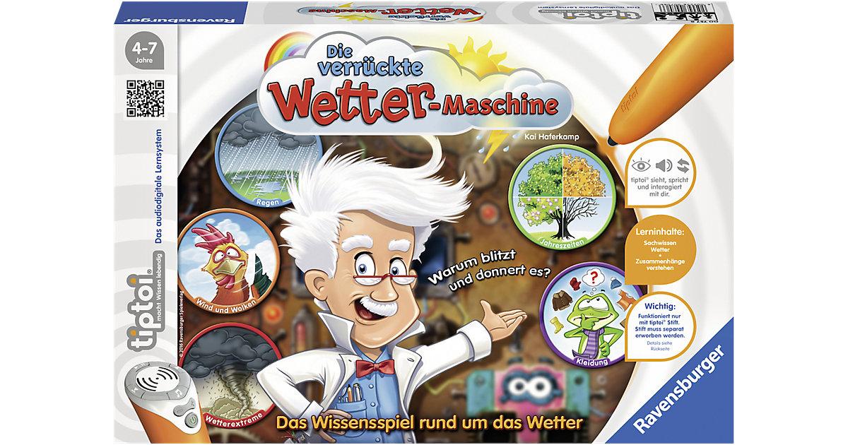 tiptoi® Die verrückte Wetter-Maschine (ohne Stift)
