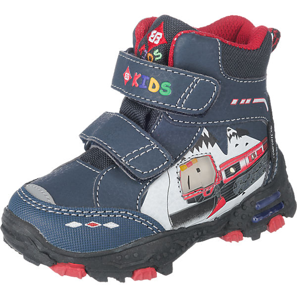Kinder Stiefel Blinkies SNOWMAN V, Tex