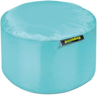 Sitzsack Drum, Oxford, aqua, pushbag