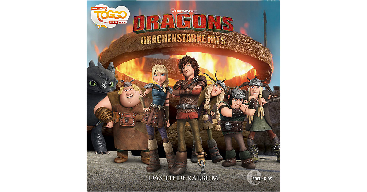CD Dragons - Drachenstarke Hits