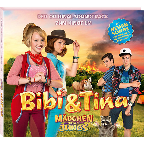 cd bibi tina 3 original soundtrack zum kinofilm bibi und tina mytoys. Black Bedroom Furniture Sets. Home Design Ideas