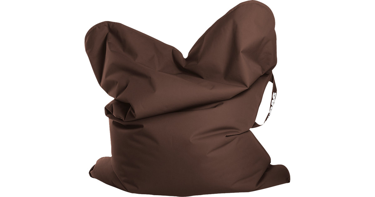 Sitting Point · Sitzsack MYBAG SCUBA, 130 x 170 cm, braun