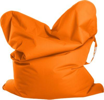 Sitzsack Scuba Big Foot 130x170cm Orange Outdoor Sitting Point