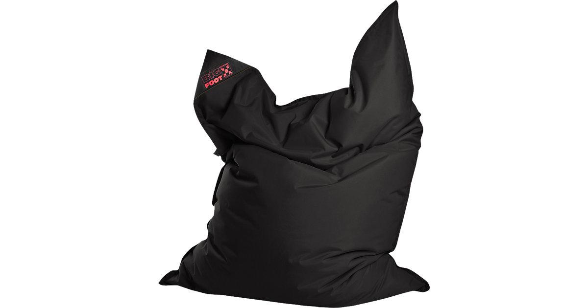 Sitting Point · Sitzsack BIGFOOT SCUBA, 130 x 170 cm, schwarz