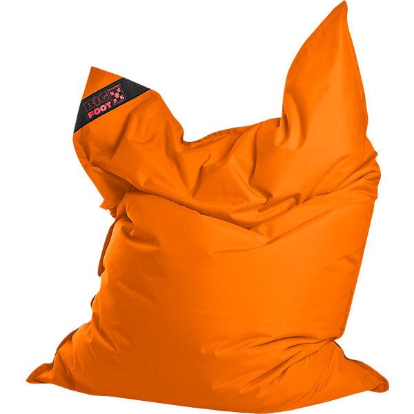 Sitzsack Bigfoot Scuba 130 X 170 Cm Orange Sitting Point Mytoys