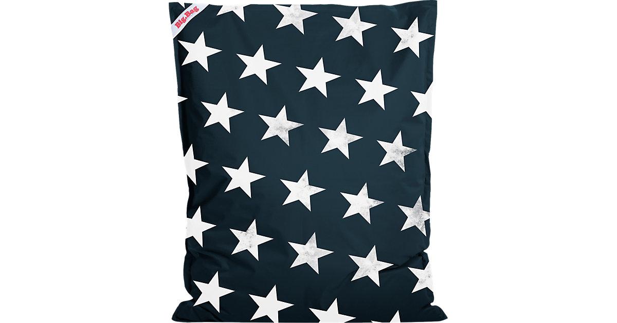 Sitting Point · Sitzsack BigBag STARS, 130 x 170 cm, jeansblau Gr. 130 x 170