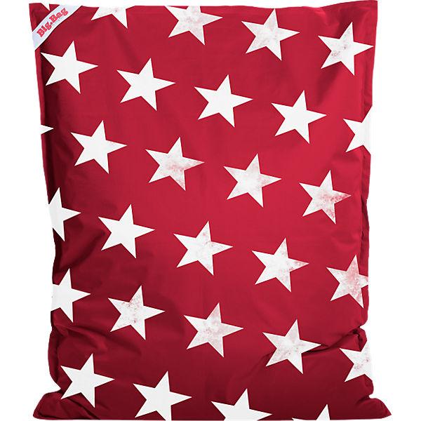 Sitzsack BigBag STARS, 130 x 170 cm, rot, Sitting Point | myToys