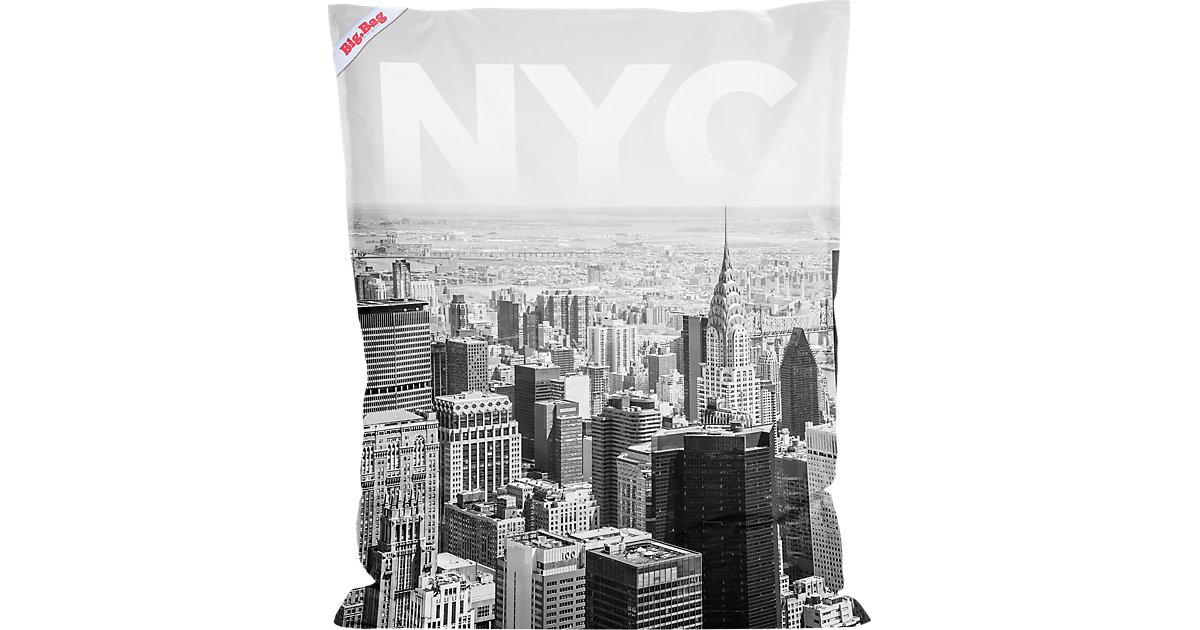 Sitting Point · Sitzsack BigBag, 130 x 170 cm, NYC schwarz/weiß Gr. 130 x 170